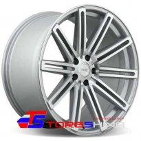 Диск литой 10.5*22 5*120 ET35 74.1 VISSOL V-004 silver-polished