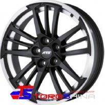 Диск - Диск литой 8,5*19 5*112 ET45 70,1 ATS Prazision Racing Black Double lip polished