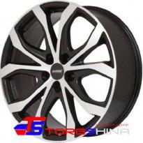 Диск - Диск литой 9*20 5*114,3 ET35 70,1 Alutec W10 Racing black front polished