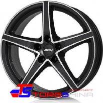 Диск - Диск литой 7,5*18 5*114,3 ET55 67,1 Alutec Raptr Racing black front polished