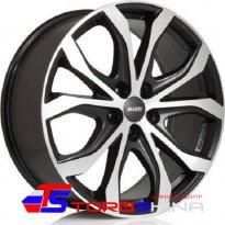 Диск - Диск литой 8,5*19 5*120 ET45 72,6 Alutec W10X Racing black front polished